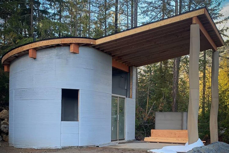 カナダの3Dプリント住宅がエアビーアンドビーに登録