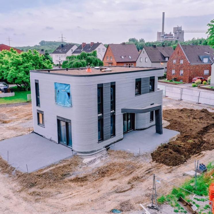 ドイツ初の居住用3Dプリント住宅が完成へ