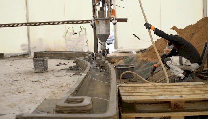 COBOD建設3Dプリンターが米アリゾナ州で稼働を開始