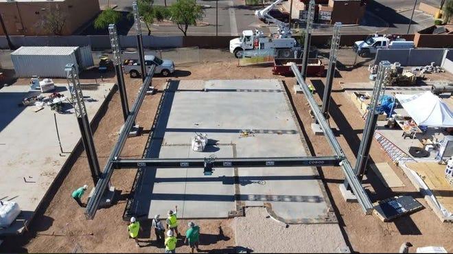 アリゾナ州で建設中の3Dプリント住宅の入居者が決定