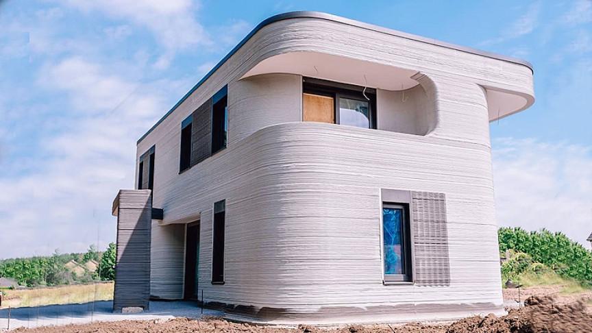 ドイツ初の3Dプリント住宅が完成