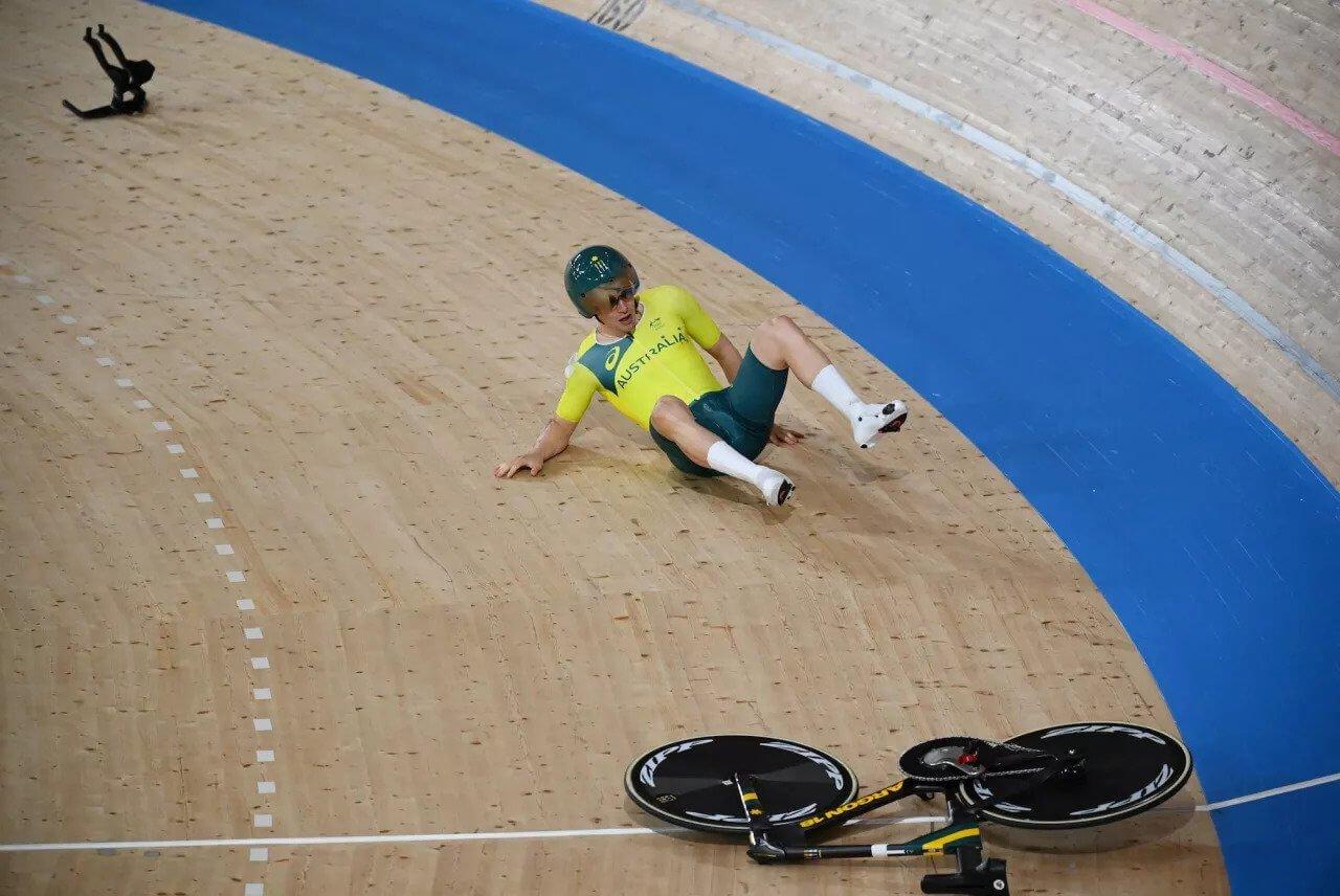 3Dプリント自転車が東京オリンピックの競技で破損