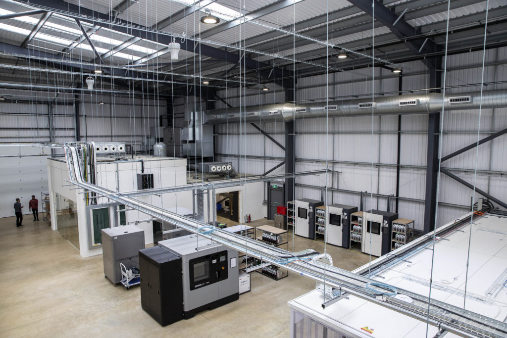 英シルバーストーンビジネスパークにデジタルマニュファクチャリングセンターがオープン